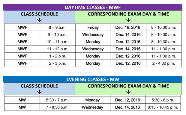 final-exam-schedule-fall-2016