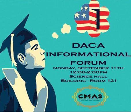 DACA Informational Forum at UTA — 9/11/17   Español @ UTA
